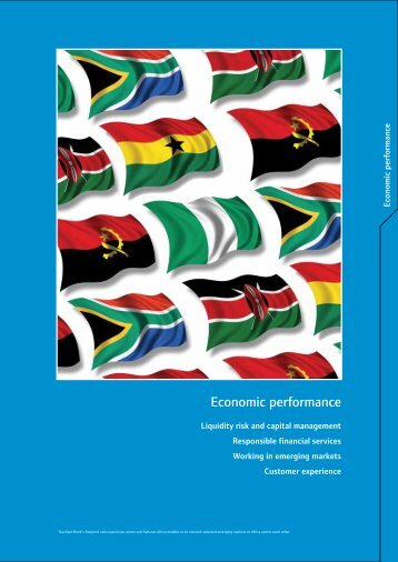 Economic performance - Standard Bank Sustainability