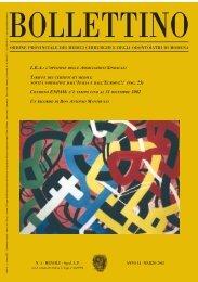 Marzo 2002 (pdf - 542 KB) - Ordine Provinciale dei Medici Chirurghi ...