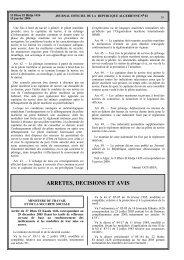 (correspondant au 15 janvier 2006) relatif aus tarifs ... - Santé Maghreb