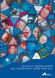 Jahrbuch 2008 | 2009 - Deutsche AIDS-Hilfe