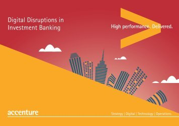 Accenture bank of things accenture digital disruptions investment banking malvernweather