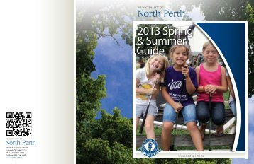 2013 Spring & Summer Guide - Municipality of North Perth