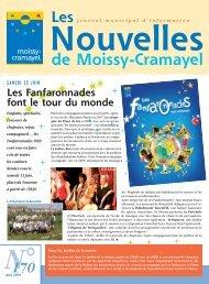 Nouvelles mai 2009 n°170 - Ville de Moissy-Cramayel