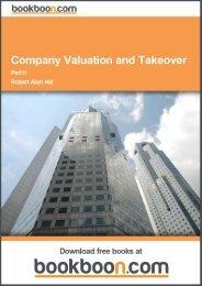 Company Valuation and Takeover Language English ... - Tutorsindia