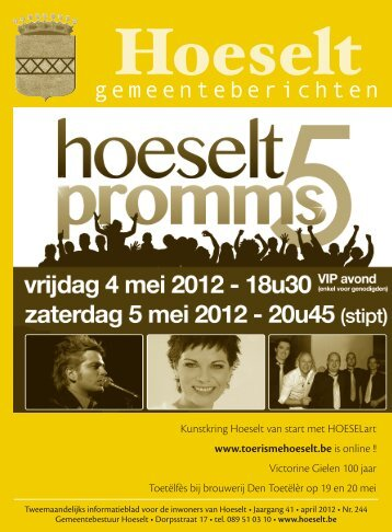 [2012] hoeselt - gemeenteberichten 244 april.indd - Hoeselt.Be