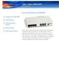 Download ZNID-GPON-2520 Datasheet