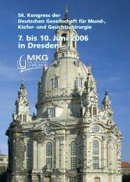 7. bis 10. Juni 2006 in Dresden 7. bis 10. Juni 2006 in Dresden