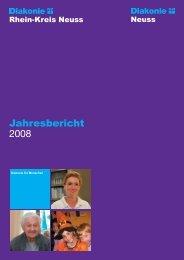 Jahresbericht DW RKN 2008 - Diakonie im Rhein-Kreis Neuss