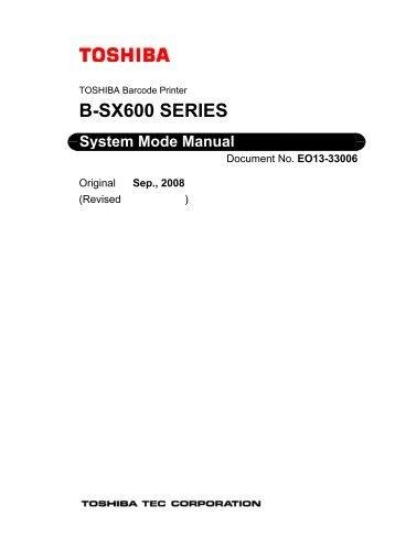 B-SX600 SERIES - Finn-ID