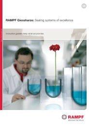 Foam Gaskets Brochure - RAMPF Giessharze