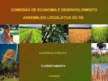 Florestamento Caixa RS - Assembléia Legislativa