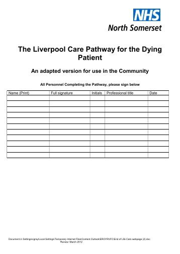 care of dying patient pdf