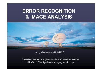 ERROR RECOGNITION & IMAGE ANALYSIS