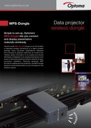 WPS-Dongle - Optoma