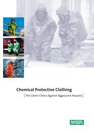 Bulletin Chemical Protective Clothing Range - Scene7