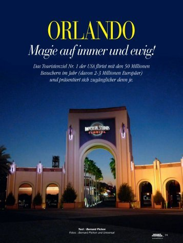 Orlando USA - Magazine Sports et Loisirs