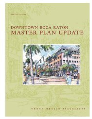 master plan update - City of Boca Raton