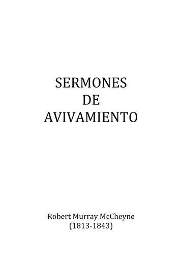 SERMONES DE AVIVAMIENTO por R.M. McCheyne