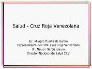 Salud - Cruz Roja Venezolana