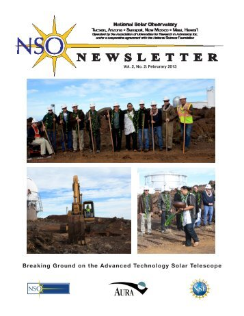 Breaking Ground on the Advanced Technology Solar Telescope