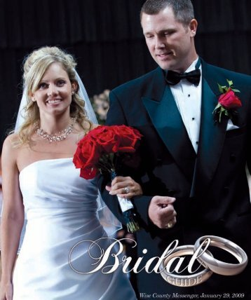Bridal Guide 2009.indd - Wise County Messenger