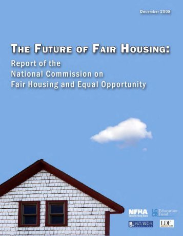 The Future of Fair Housing - The Leadership Conference on Civil ...