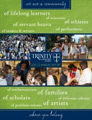 of families of artists - Trinity Episcopal School