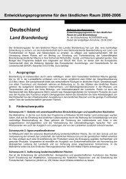 Deutschland Land Brandenburg - EU Natur