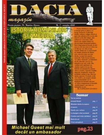 nr.7 noiembrie 2003 - Dacia.org