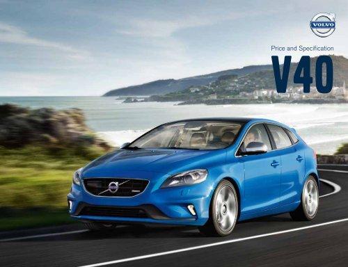 V40 Pricelist - Volvo