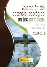 Valoración del potencial ecológico en los embalses de la cuenca ...