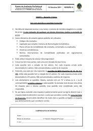 Avaliação profissional - Ordem dos Técnicos Oficiais de Contas