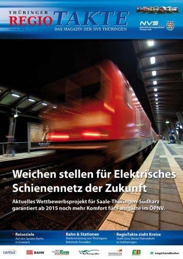 "RegioTakte, Ausgabe ""Februar 2012"" [PDF, 1,4 MB"