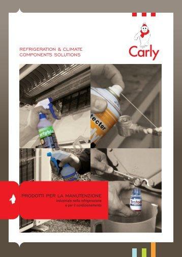 Prodotti per la manutenzione - Carly