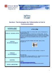 Secteur - Tunisian Industry Portal