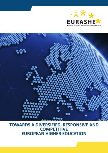 Towards a Diversified, Responsive and Competitive European Higher
