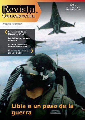 Libia a un paso de la guerra - Generaccion.com