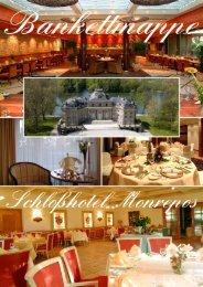 Bankettmappe - Schlosshotel Monrepos