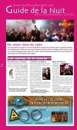 Bars, discothèques, casinos www.mulhousebynight.com - JDS.fr