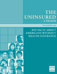 The Uninsured a Primer - Ravenswood Family Health Center