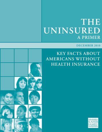 The Uninsured a Primer - Ravenswood Family Health Center