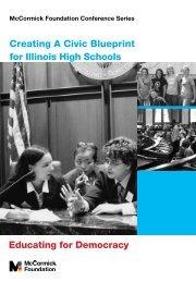 Civic Blueprint - McCormick Foundation