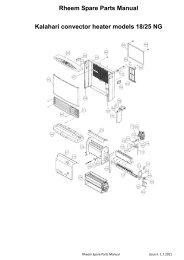 Rheem Versa Spa Heater 055B