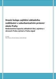 Analýza - Hrozící kolaps zajištění základního vzdělávání? - Mnichovice