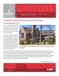 THIRTEENTH DECORATOR SHOW HOUSE ASTOUNDS