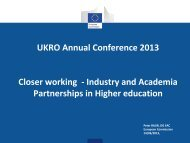 Industry and Academia Partnerships in Higher education
