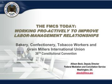 to download Allison Beck's Power Point Presentation - Bakery ...