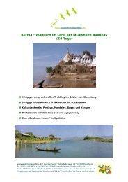 Myanmar - Wandern im Land der lächelnden Buddhas (24 Tage)