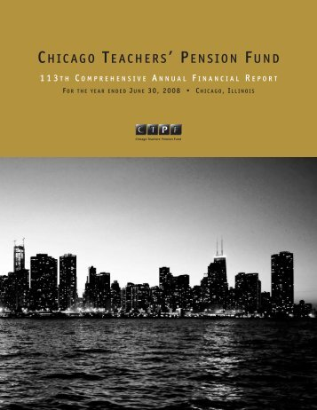 2008 - Public School Teachers' Pension and Retirement Fund of ...