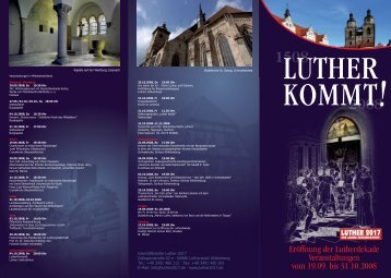 Aus Liebe zur Wahrheit - Lutherstadt Wittenberg